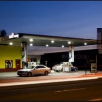 Tankstationverlichting
